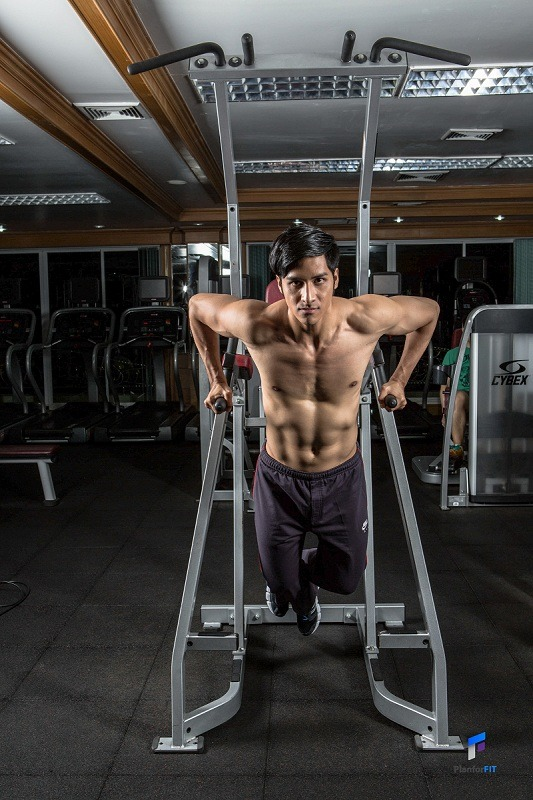 Dips For Chest Finish