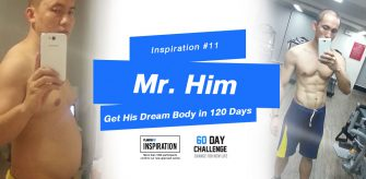 Inspiration#11 Mr.Him Gets his dream body in 120 days