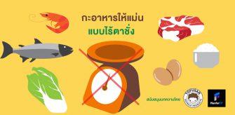 กะอาหารให้แม่น แบบไร้ตาชั่ง สนับสนุนบทความโดย Tofusan