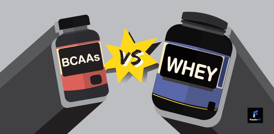 BCAAs vs Whey ได้ผลแตกต่างกันยังไง?