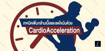 CardioAccelerate เพิ่มกล้าม และ ลดไขมัน ไปพร้อมๆ กัน